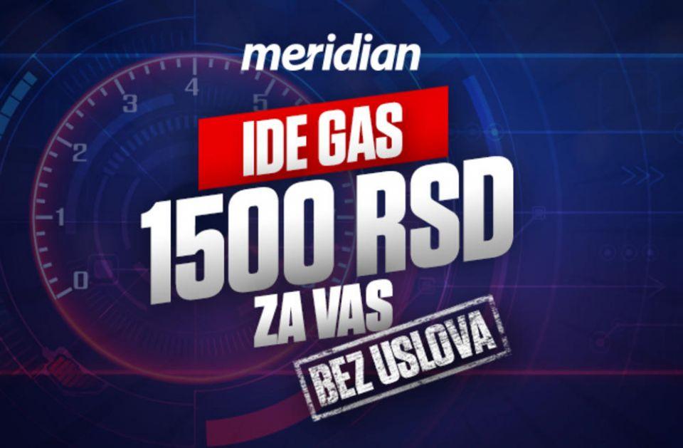 NEMA USLOVA - Dovoljan je samo jedan klik i odmah dobijaš 1.500 DINARA!