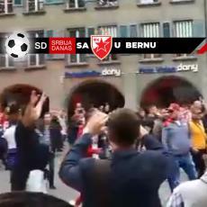 HAOS U ŠVAJCARSKOJ: Tuča navijača na ulici u Bernu! Došlo je i do PUCNJAVE (VIDEO)