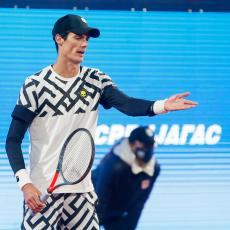 NEPRIJATNO IZNENAĐENJE: Petrović poražen u kvalifikacijama od 800 mesta lošije rangiranog tenisera