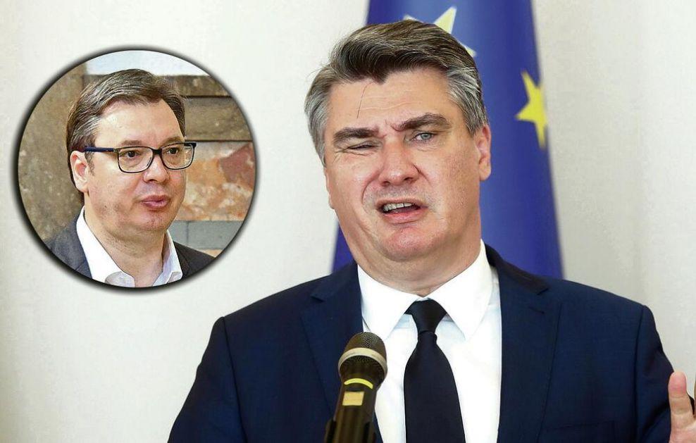 NERADNIK! Zoran Milanović PUKAO OD ZAVISTI prema Vučiću i Srbiji, pa najniže vređao našu državu!