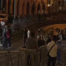 NEREDI NA ULICAMA IZRAELA! Policija vodenim topovima RASTURILA masu demonstranata, potpuni HAOS u Jerusalimu (VIDEO)