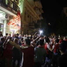 NEREDI U BAKUU: Sukobili se navijači Čelsija i Arsenala, ima POVREĐENIH (FOTO)