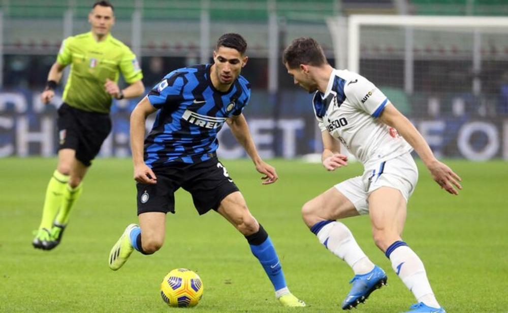 NEROAZURI HITAJU KA TITULI: Inter pobedio Atalantu u derbiju i opet umakao Milanu i Juventusu! VIDEO
