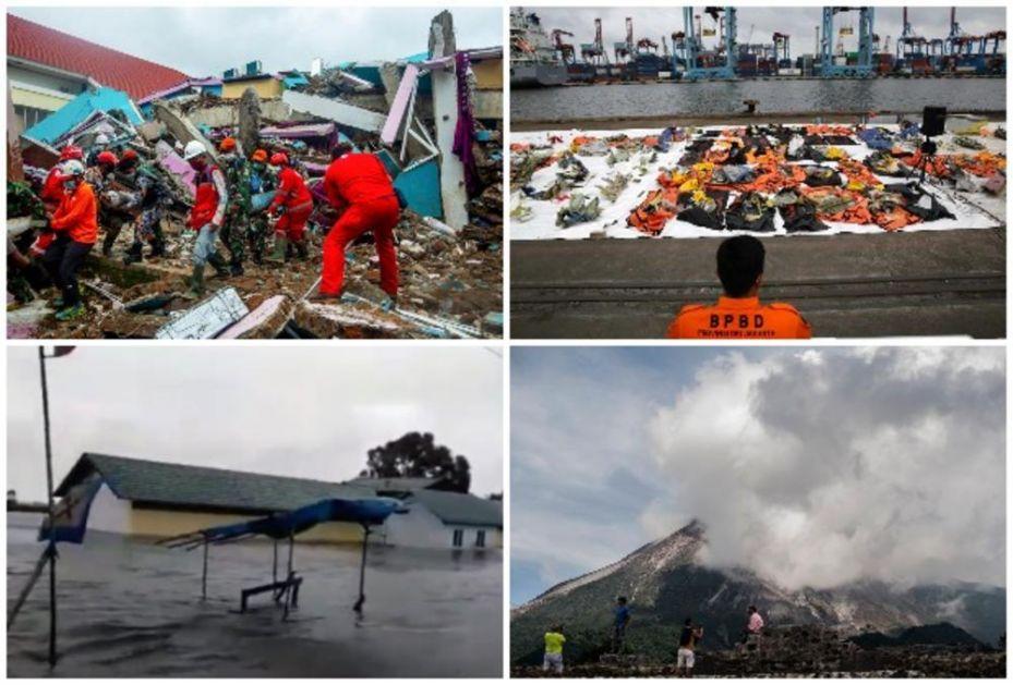 NERSREĆA BAŠ UDARILA NA INDONEZIJU: Nakon stradanja u poplavama, zemljotresu i padu aviona proradio i vulkan! (VIDEO)