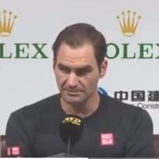 NERVOZAN, MNOGO NERVOZAN: Federer se ponovo svađao, posle sudije na red došao i novinar (VIDEO)