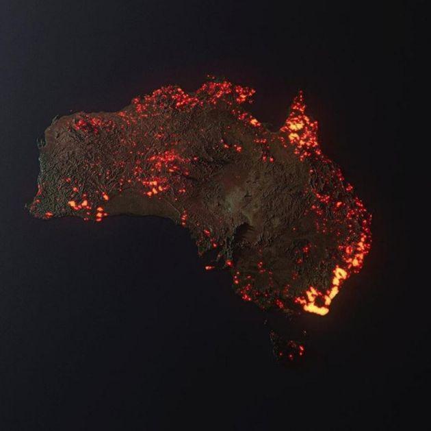 NESTVARNA SLIKA PAKLA U AUSTRALIJI: Konačno prikazana razmera EPSKE APOKALIPSE celog kontinenta, a evo zašto je jeziva!