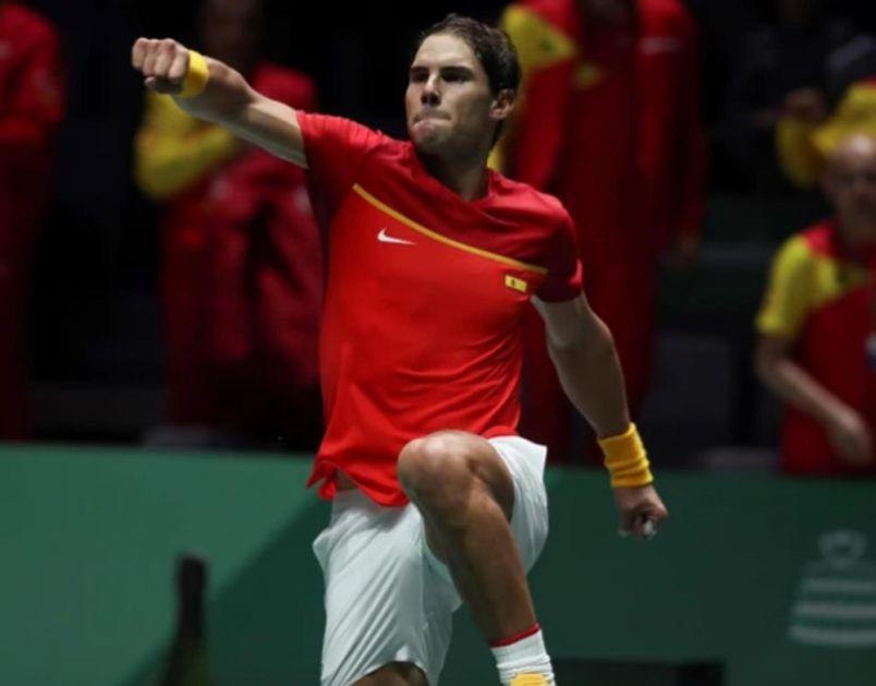 NESTVARNI NADAL ODVEO ŠPANIJU U FINALE: Španac zabeležio 31 uzastopnu pobedu u dresu sa nacionalnim grbom! (FOTO)