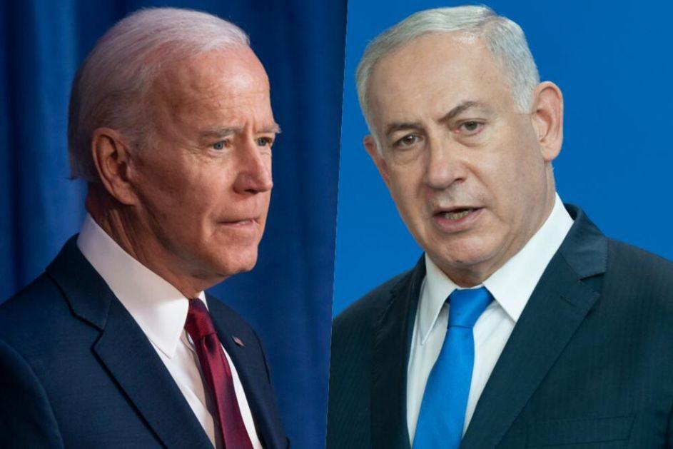 NETANIJAHU ISKULIRAO BAJDENA Odgovor premijera Izraela: Idemo napred da vratimo našu bezbednost