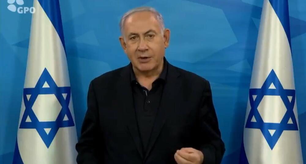 NETANIJAHU: Lideri Hamasa misle da mogu da pobegnu od nas, ne mogu! Stići ćemo ih svuda VIDEO