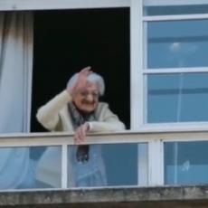 NEUNIŠTIVA! Ima 110 godina, preživela je špansku groznicu, građanski rat, sad prkosi koroni! (VIDEO)