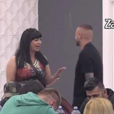 NEVERICA! Miljana je prišla i šapnula mu nešto na uvo - kad su čuli šta, popadali su od smeha! (VIDEO)