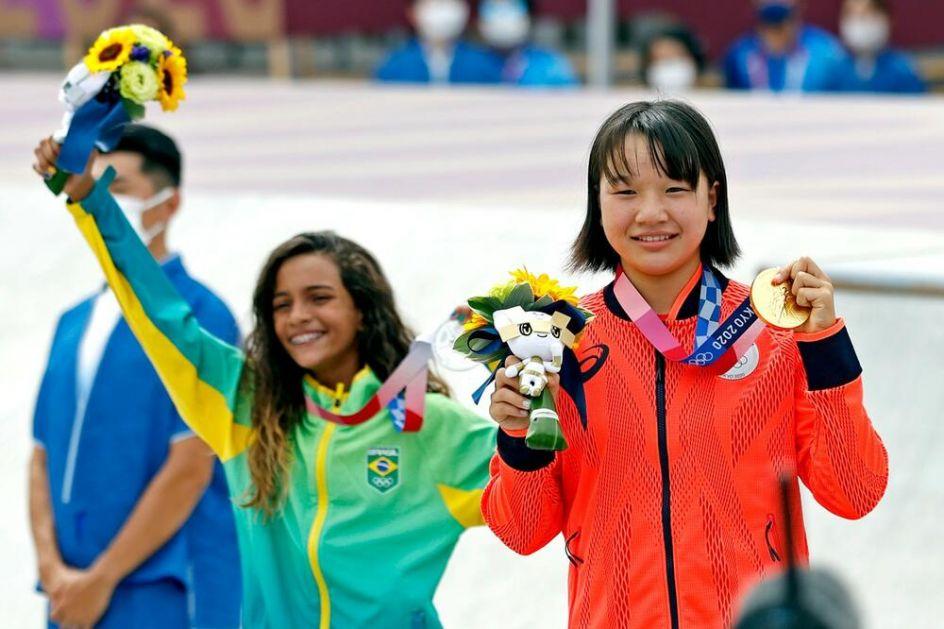 NEVEROVATNO! Devojčica od 13 GODINA osvojila ZLATO na Olimpijskim igrama!