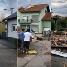 NEVREME RAZORILO HRVATSKU: Snažan olujni vetar rušio sve pred sobom, razbio krovove, čupao drveće (VIDEO)