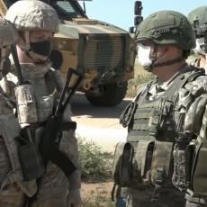 NI TRAGA OD TERORISTA: Izvedena rusko-turska patrola na severoistoku Sirije (VIDEO)