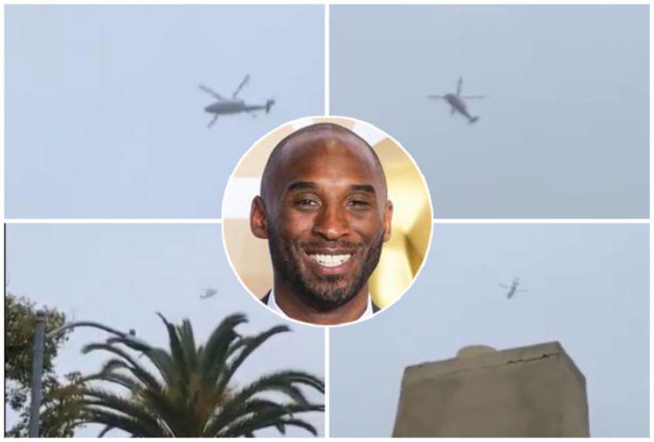 NIJE NI SLUTIO DA JE SNIMIO KOBNI LET: Video pokazuje jeziv detalj uoči pada helikoptera sa Kobijem Brajantom! VIDEO