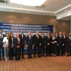 NIJE SAMO SVETSKO PRVENSTVO: Vanja Udovičić u Moskvi na ministarskom sastanku (FOTO)