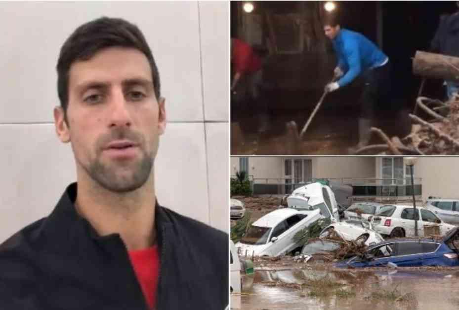 NIJE ZABORAVIO NI SVOG DRUGA NADALA! Novak poslao snažnu poruku nakon STRAVIČNIH scena u Španiji! (VIDEO)