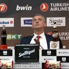 NIKAD KRAĆI RADONJIĆ: Crnogorski stručnjak vidno razočaran nakon debakla od Valensije