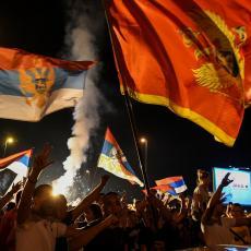 NIKAD NEĆE CRNA GORA BITI OBALA SRPSKOG MORA Milove pristalice sinoć širile ludilo i protestvovali u Nikšiću
