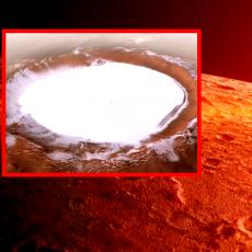 NIKAD VIĐENI SNIMCI MARSA: Ledeni krater će vas ostaviti BEZ DAHA, ključan je ZA KOLONIZACIJU PLANETE (VIDEO)