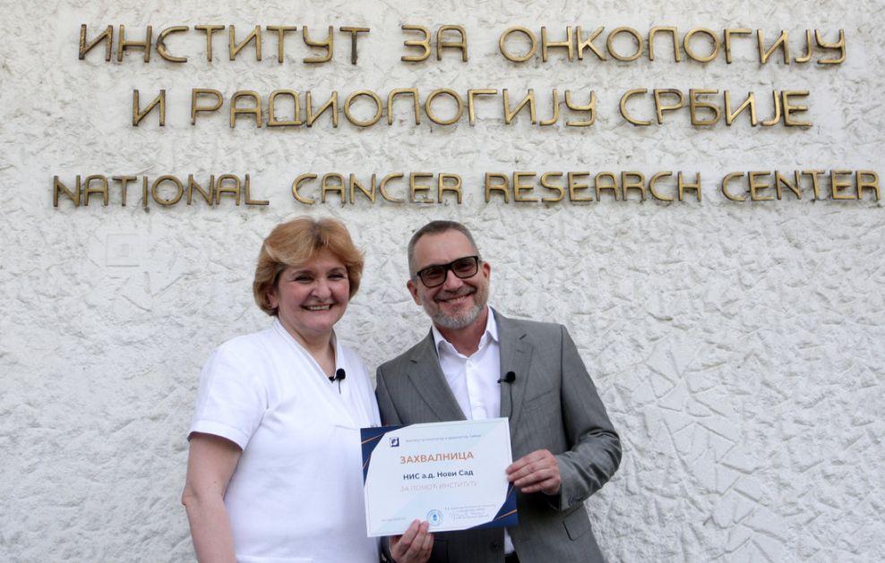 NIS donirao vodu i reagense Institutu za onkologiju KCS