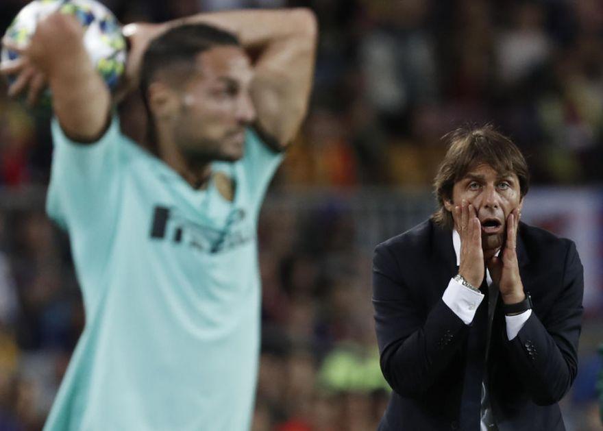 NISMO ZASLUŽILI PORAZ! Trener Intera posle Barselone: Sudija Skomina je iskusan i ne sme da bude neko ko će da padne pod atmosferom Nou Kampa
