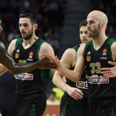 NISU HTELI DA ČEKAJU EVROLIGU: Grci završili sezonu, proglašen šampion