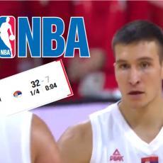 NISU MOGLI DA PREĆUTE: Oglasio se NBA posle Bogdanovog rasturanja Amerike! (VIDEO)
