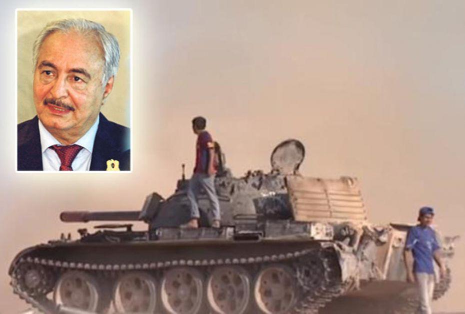 NJEGA TURCI NISU UPLAŠILI: Libijski maršal naredio opšti napad na Tripoli, ima važnu ponudu za protivnike (VIDEO)