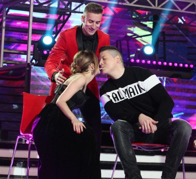 NJEMU JE POŠLO ZA RUKOM ONO ŠTO NIKOME NIJE! U trećoj epizodi 'Pinkovih zvezda – All Talents' pao poljubac između Kije i Slobe!