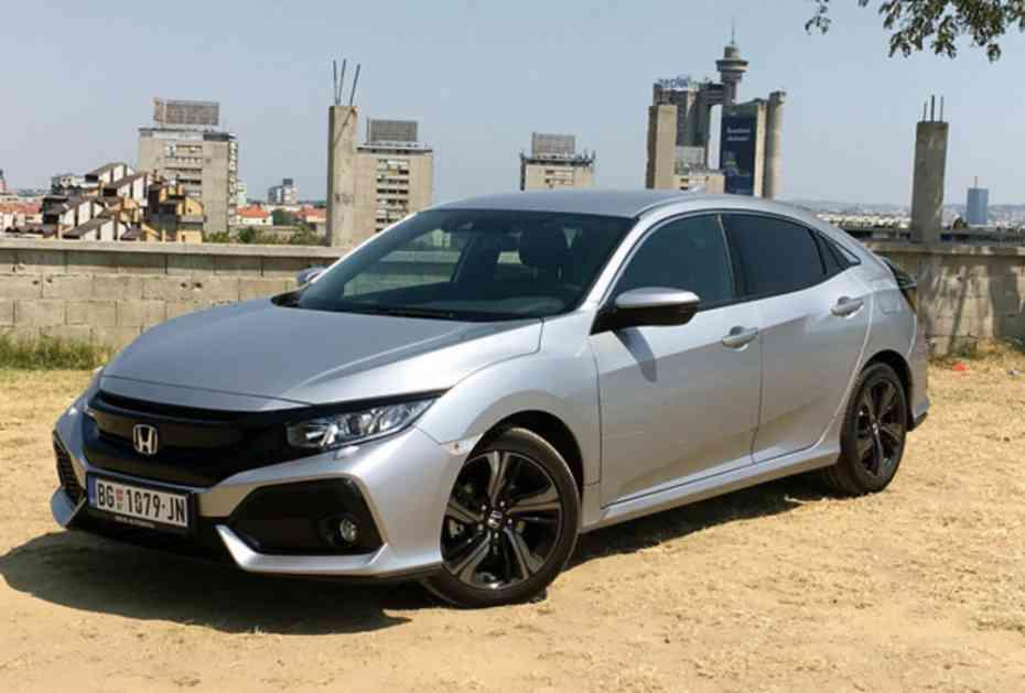 NLO ZA ŠAKU EVRA: Honda sivik na testu Kurira!