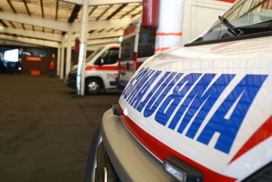 NOĆ U BEOGRADU: Motociklista teško povređen u Ugrinovcima