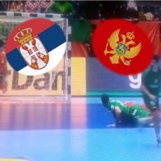 NOKAUT U GLAVU: Crnogorac ISKLJUČEN već u drugom minutu zbog BEZOBRAZNOG faula! (VIDEO)