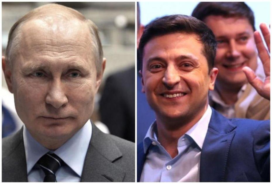 NORMANDIJSKA ČETVORKA U PARIZU: Putin, Zelenski, Markon i Merkelova o rešavanju krize u Ukrajini (FOTO)