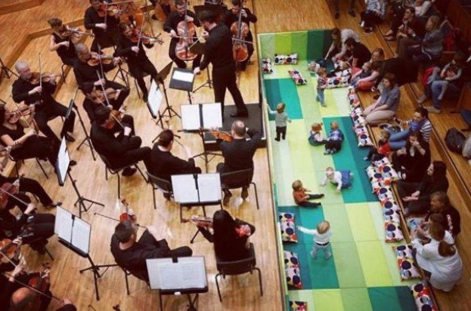 NOVA SERIJA KONCERATA ZA BEBE: Beogradska filharmonija ponovo svira za najslađe i najmlađe