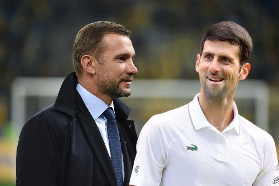NOVAK OPROSTIO ŠEVČENKU ŠTO JE DEMOLIRAO ORLOVE: Najbolji teniser sveta i slavni Ukrajinac su veliki prijatelji! Evo kako je protekao njihov poslednji susret (FOTO)