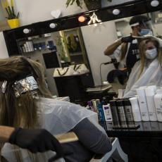 NOVE MERE DANAS STUPAJU NA SNAGU: Relaksacija za frizere - detaljno koliko ljudi može u salon i kako držati rastojanje