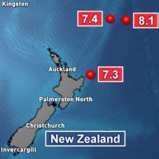 NOVI RAZORNI ZEMLJOTRES NA NOVOM ZELANDU: Izdato upozorenje na cunami i naređena hitna evakuacija građana (FOTO)