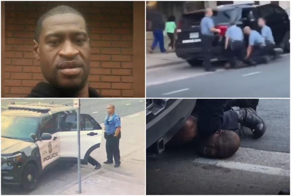 NOVI SNIMCI FLOJDOVOG UBISTVA POKAZUJU SAV UŽAS: 4 policajca se obrušila na jednog čoveka, nije mu bilo spasa (VIDEO)