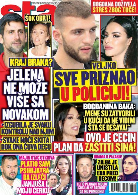 NOVI STAR! Kraj braka: Jelena neće da živi sa Novakom! ŠOK detalji tuče u Titelu, Ceca i Bogdana ovo uradile! Edo napravio scenu u Pazaru! Janjuša leči PSIHIJATAR!
