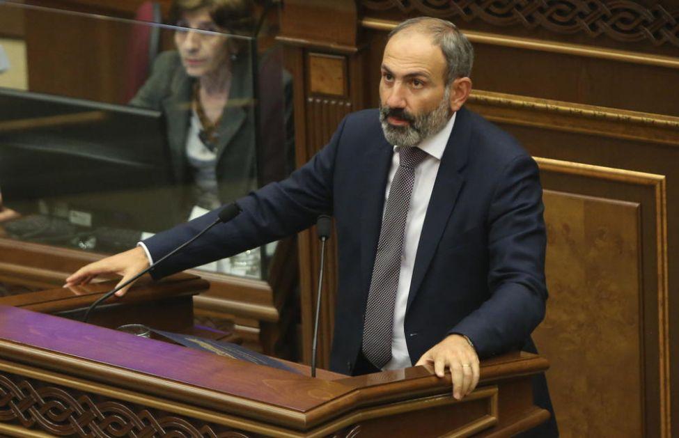 NOVI STARI PREMIJER: Jermenski parlament ponovo izabrao Pašinjana za predsednika vlade