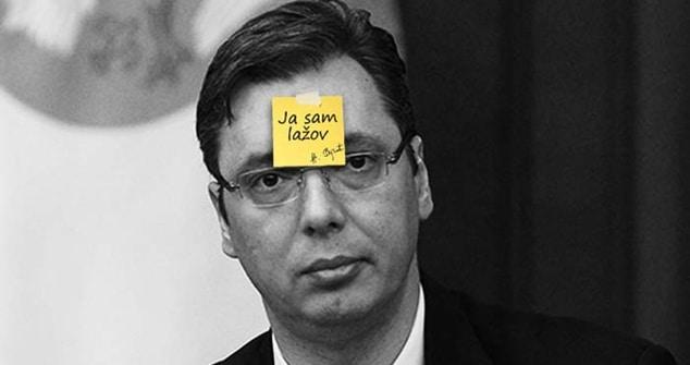 NP Otadžbina: Vučić, po običaju, laže