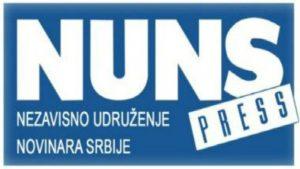 NUNS zabrinut zbog tužbe Gašića protiv KRIK-a