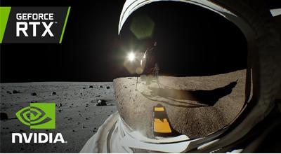 NVIDIA rekreirala lunarno sletanje uz RTX tehnologiju