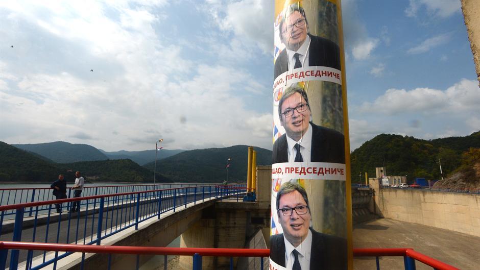 Na Gazivodama mirno, KPS na Brnjaku (FOTO)