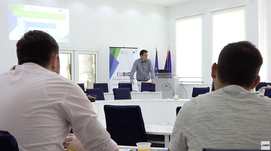 Na Internacionalnom univerzitetu predstavljen projekat podrške EU razvoju poslovnih inkubatora