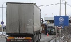 Na Kosovo iz Srbije za tri dana ušlo 160  šlepera sa robom