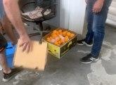Na Preševu zaplenjeno skoro tri tone pomorandži FOTO