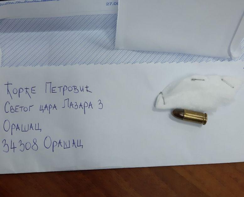 Na adresu Mešihata Islamske zajednice poslat pištoljski metak