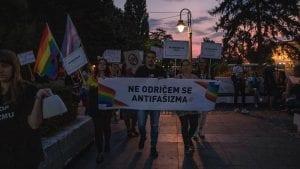 Na antifašističkoj šetnji u Nišu data podrška Paradi ponosa